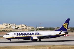 Ryanair Malta.