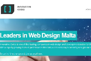 Innovative Codes, leaders for Web design in Malta.